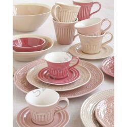 Porceláncsésze és alj 250ml, Abitare Chic Deep Pink