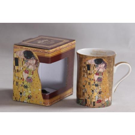 P.P.W6A53-11420 Porcelán bögre,Klimt:The Kiss,250ml