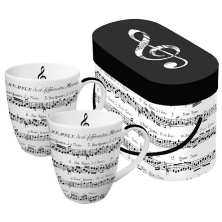 PPD.P601344 Porcelán bögre 0,35l dobozban 2db-os,Adagio