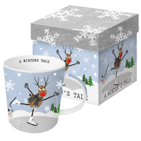 Porcelán bögre 0,35l dobozban,A Winter's Tale
