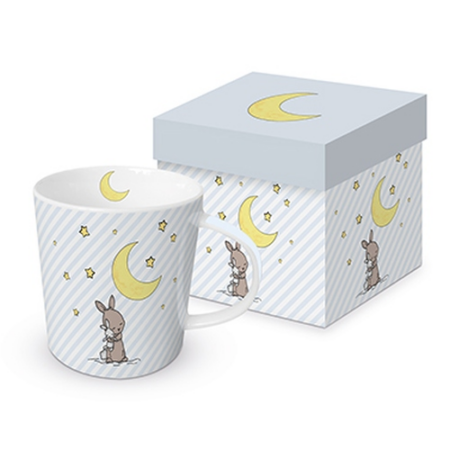 PPD.M603627 Porcelán bögre 0,35l, dobozban, Good Night Louise
