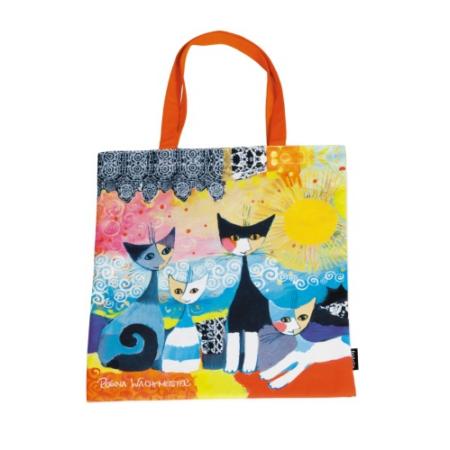 FRI.12721 Textil bevásárló táska 38x40cm, Rosina Wachtmeister : Merletto Sole
