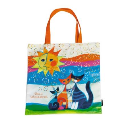 FRI.12720 Textil bevásárló táska 38x40cm, Rosina Wachtmeister: Momenti di Felicita