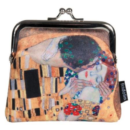 FRI.18941 Csatos pénztárca 10,5x10x3cm,Klimt:The Kiss