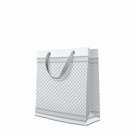 P.W.AGB1012803 Modern papír ajándéktáska premium medium 20x25x10cm