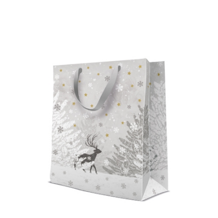 P.W.AGB2005605 Frozen Scenery papír ajándéktáska prémium large 26,5,33,5x13cm