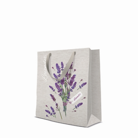 P.W.AGB1009503 Lavender for You papír ajándéktáska medium 20x25x10cm