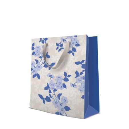P.W.AGB1007105 Flower & Lace papír ajándéktáska large, 26,5x33,5x13cm