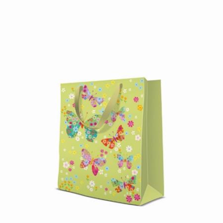 P.W.AGB1010103 Butterflies Around papír ajándéktáska medium 20x25x10cm