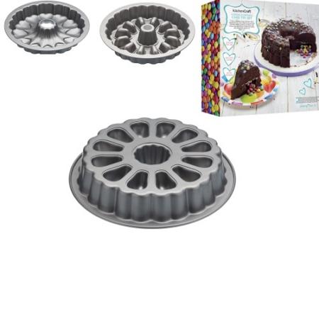 K.C.SDIFILLHEART Tapadásmentes süteménysütő 2 db-os szett, zsebformázós, tölteléknek, 28x5cm, KitchenCraft Bakeware