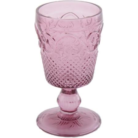 C.T.5139264 Talpas üvegpohár rózsaszín 275ml, HighLand Fling