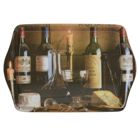 C.T.5233477 Kistálca 212x140mm, műanyag, Vintage Wine