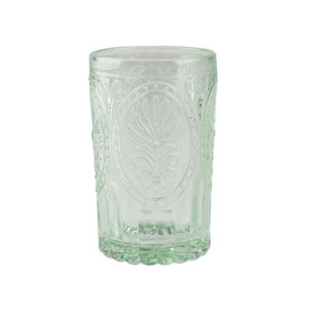 C.T.5201939 Üveg pohár 350ml, zöld, Festival Folk