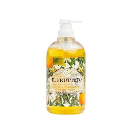 N.D.Il Frutteto, olivo e mandarino folyékony szappan 500ml