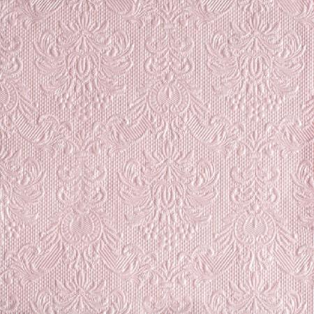 AMB.14005517 Elegance pearl pink papírszalvéta 40x40cm,15db-os