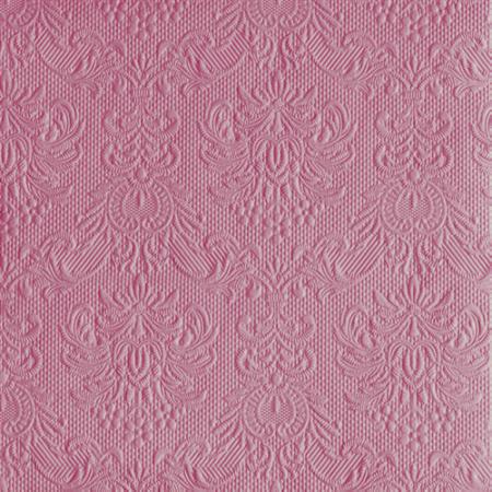AMB.14007034  Elegance Pale Rose papírszalvéta 40x40cm,15db-os