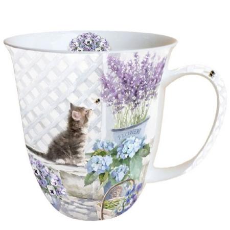 AMB.18409990 Kitten porcelán bögre 0,4l