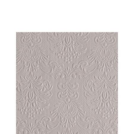 AMB.12511108 Elegance stone papírszalvéta 25x25cm, 15db-os