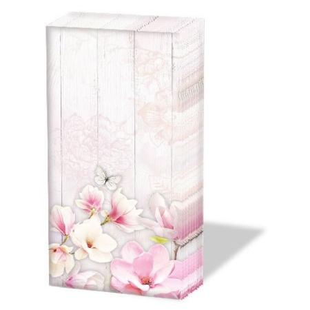 AMB.12212705 Magnolia Garden papírzsebkendő 10db-os