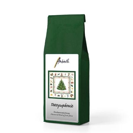 AMB.34514515 Christmas Evergreen white gyümölcstea 100g (alma,hibiszkusz,csipkebogyó,citrusfélék,aroma,mandula)