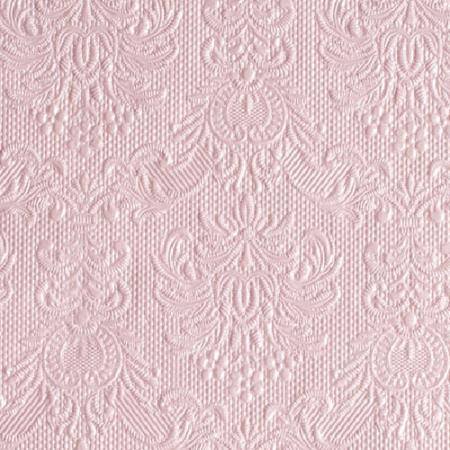 AMB.12505517 Elegance Pearl Pink papírszalvéta 25x25cm,15db-os