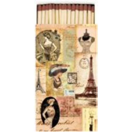 AMB.19507140 Madame a Paris gyufa