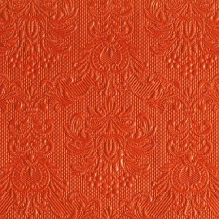 AMB.12505502 Elegance orange papírszalvéta 25x25cm,15db-os
