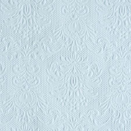 AMB.12505508 Elegance light blue papírszalvéta 25x25cm,15db-os