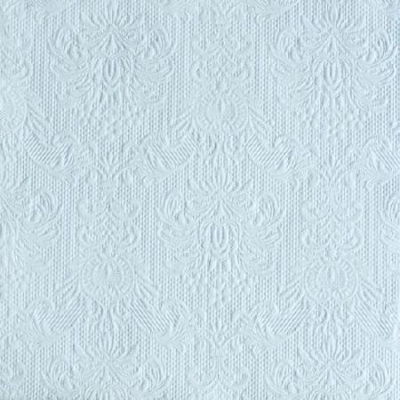 AMB.13305508 Elegance light blue papírszalvéta 33x33cm,15db-os