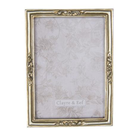 CLEEF.2F0668 Képkeret antikolt arany 14x19cm/13x18cm