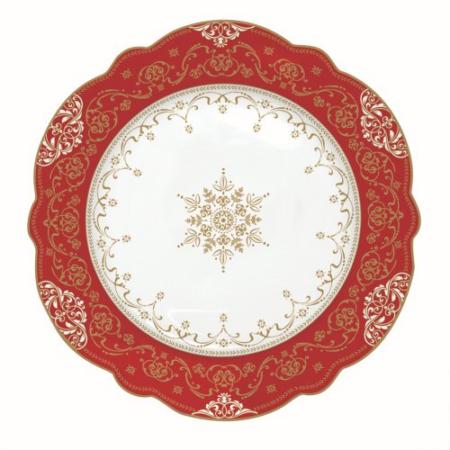 Porcelán desszerttányér 20cm, Hermitage