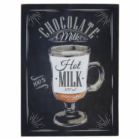 "Fa fali kép, ""Chocolate Milk"", 30x40cm"