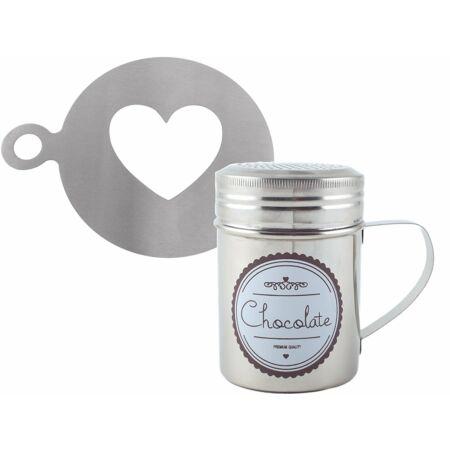 C.T.5164833 Kakaó szóró szív mintázóval, Hot Chocolate