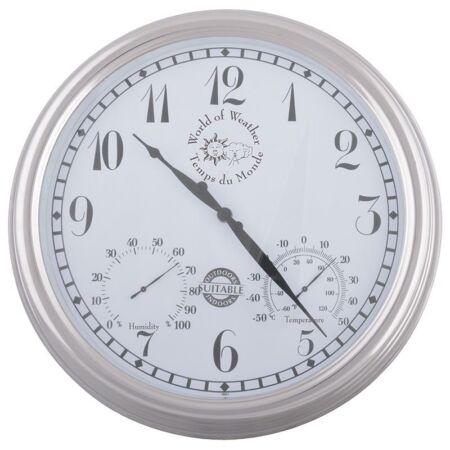 Óra hőmérővel, páratartalom mérővel TF011