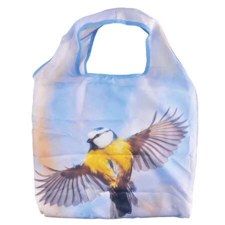 A.TP150 Bevásárló táska, kék cinegés