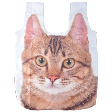 Összehajtható cicás táska L TP238