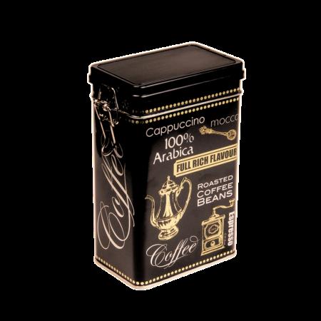 T.B.BC321 Fémdoboz 122x78x196mm, 500g, Black Coffee