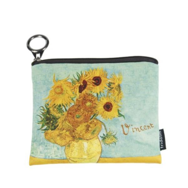 Mini pénztárca - Van Gogh: Napraforgók