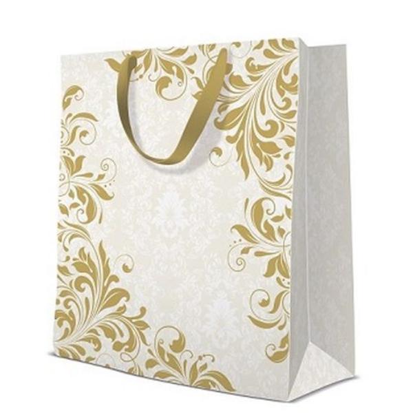 P.W.AGB1016505 Ornament Garden  papír ajándéktáska premium large  ,26,5x33,5x13cm