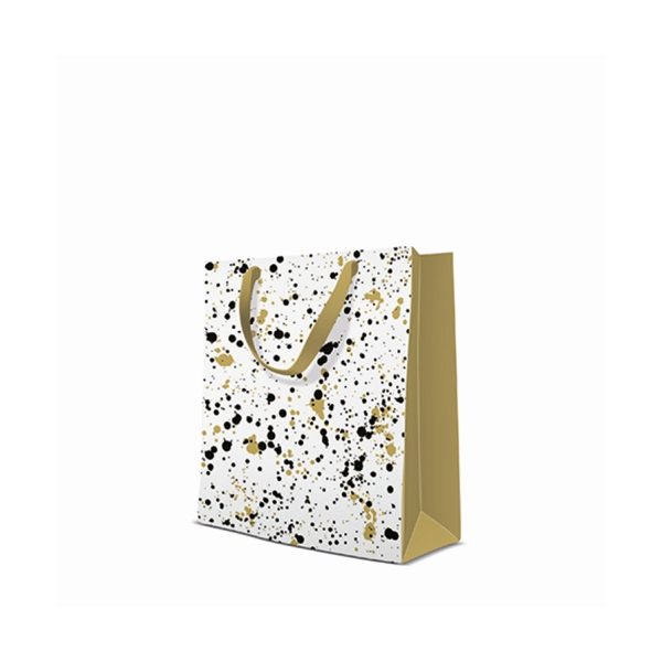 P.W.AGB1013003 Premium Stains papír ajándéktáska medium 20x25x10cm