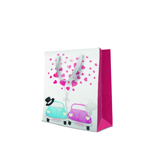 P.W.AGB3001105 Premium Cars in love papír ajándéktáska large 26,5x33,5x13 cm