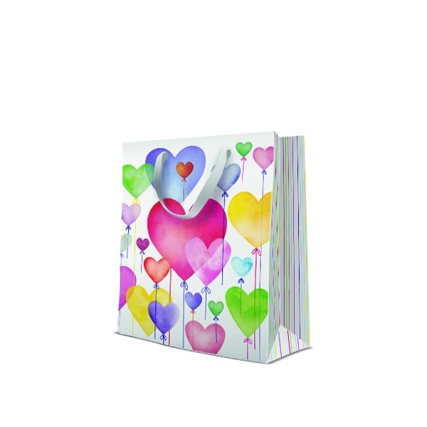 P.W.AGB3001405 Premium Lovely Balloons papír ajándéktáska large 26,5x33,5x13 cm