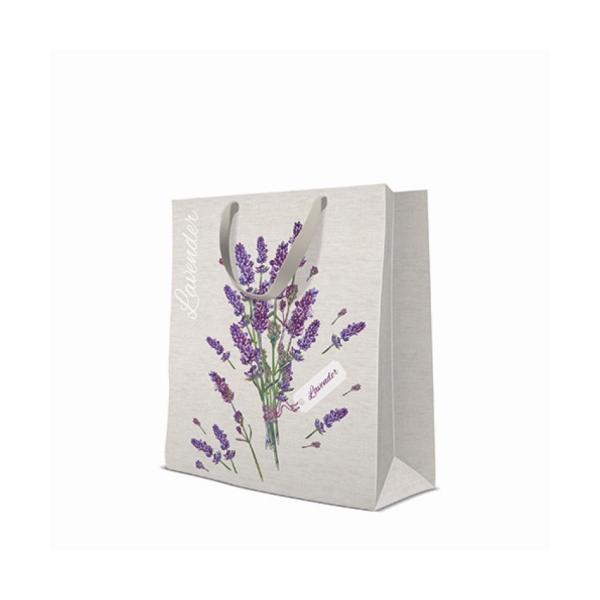 P.W.AGB1009505 Lavender for You papír ajándéktáska large 26,5x33,5x13cm