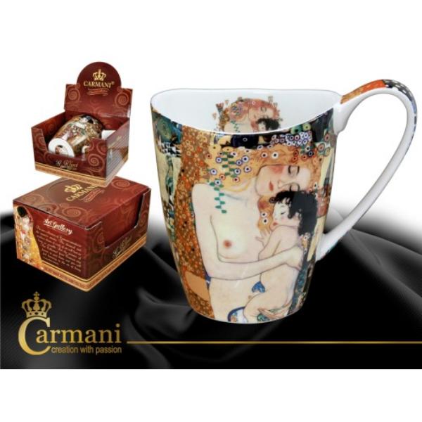 Carmani Íves bögre Klimt: Anya gyermekével