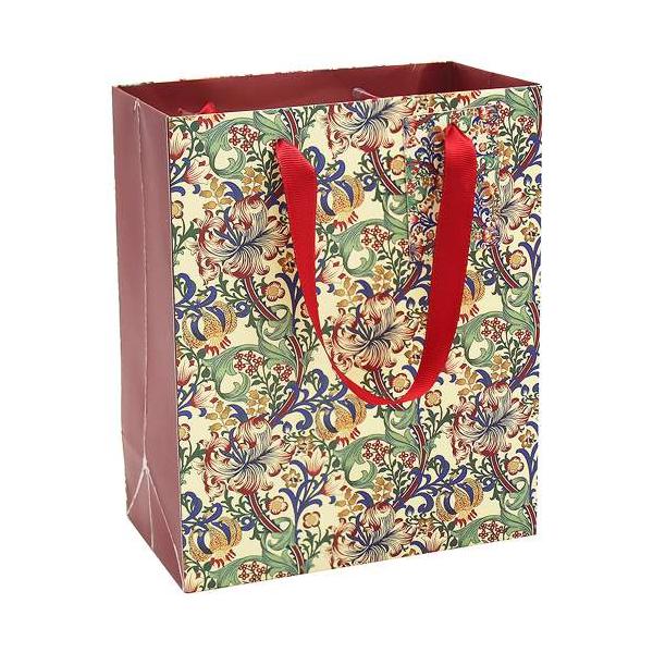 T.L.C.LP45903 Papír ajándéktáska 19x10x23cm, Golden Lily