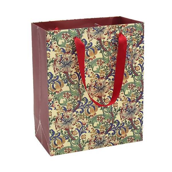 T.L.C.LP45904 Papír ajándéktáska 27x14x33cm, Golden Lily