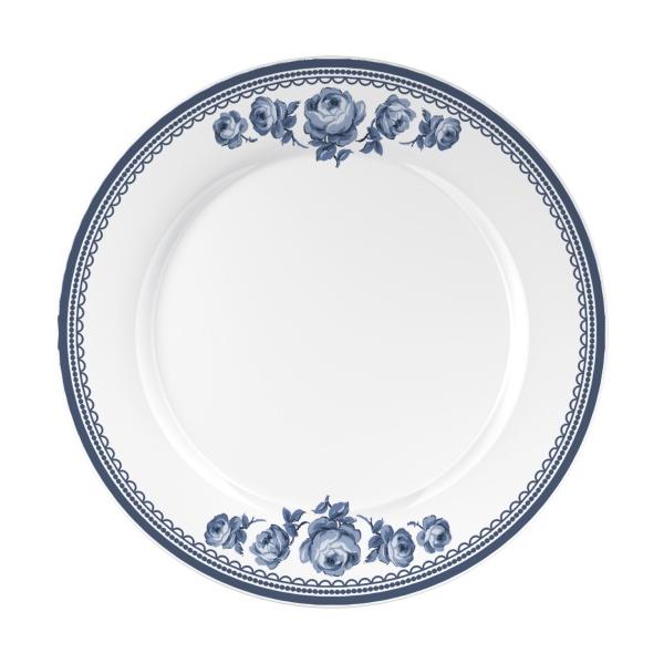 C.T.5176076 Porcelán lapostányér 270mm,Vintage Indigo