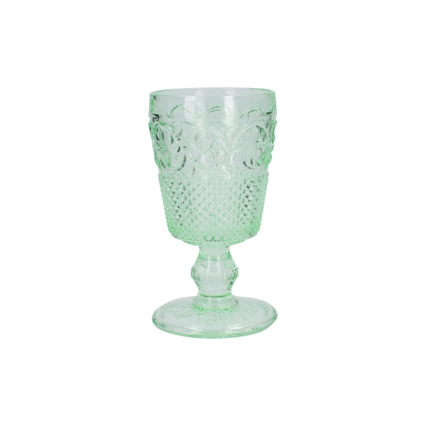 C.T.5227115 Üveg talpaspohár 275ml, zöld