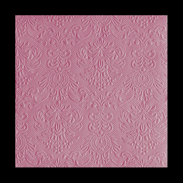 Elegance Pale Rose papírszalvéta 40x40cm, 15db-os