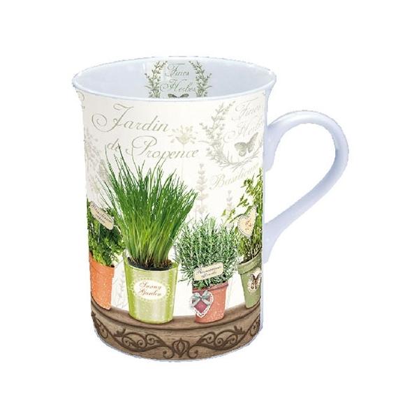 AMB.18609790 Le Jardin De Provence porcelán bögre dobozban 0,25l